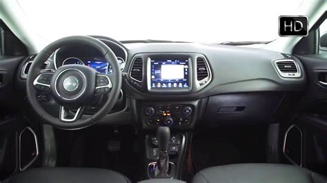 red jeep compass interior 2017 jeep compass suv interior design overview hd video