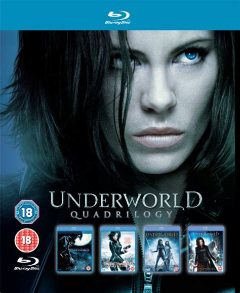 underworld film hollywood underworld 1 4 box set blu ray zavvi com