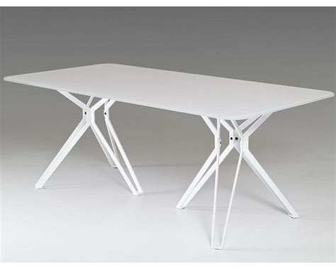 White Glass Dining Tables Modern White Glass Dining Table 44d6105dt