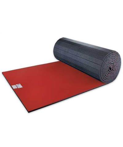Roll Out Mat smooth vinyl bonded flexi roll out martial arts foam mat