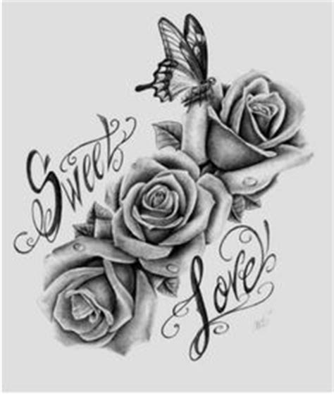 ella rose tattoo resultado de imagen para three black and grey roses