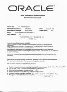 Oracle Application Performance Tester Cover Letter by Application Performance Tuning Resume