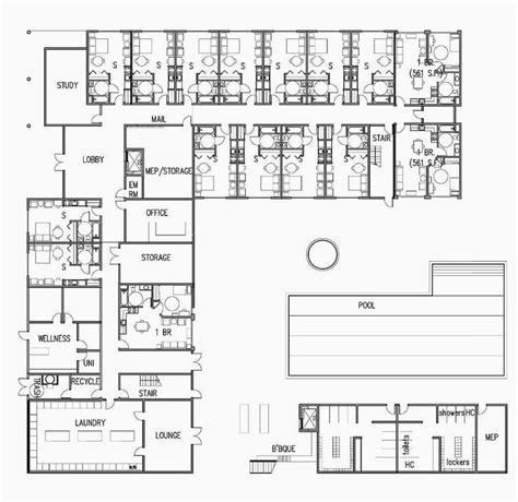 floor plan of school building elementary school building design plans brookhurst