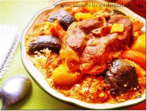 cuisine tunisienne traditionnelle four recette du couscous tunisien