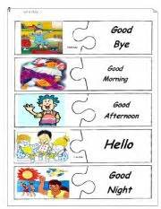 greetings worksheet by lovely15