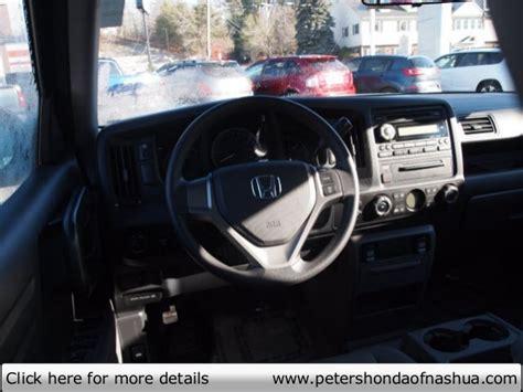 Tewksbury Ma Cab Detox by Used 2010 Honda Ridgeline Peters Honda Of Nashua Nh