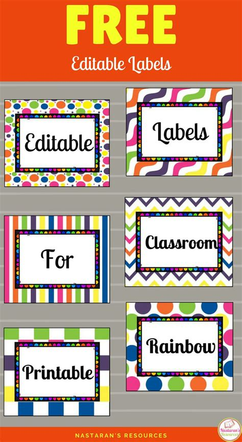 printable calendar labels for classroom 588 best labels classroom printables images on pinterest