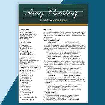 microsoft word resume templates for teachers 46 best resumes images on