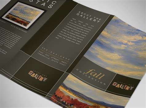 Document Moved Gallery Brochure Template