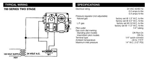 white rodgers gas valve wiring diagram hvac fan relay