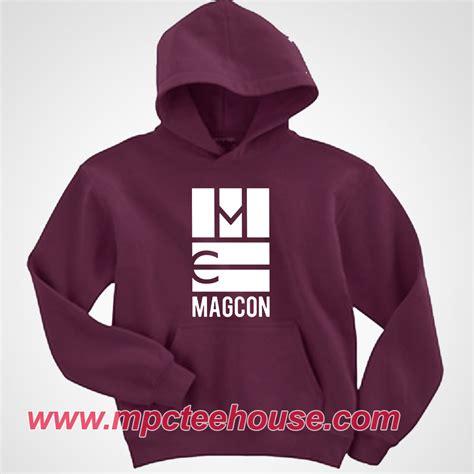 Hoodie Magcon Jidnie Clothing magcon boys symbol maroon hoodie mpcteehouse