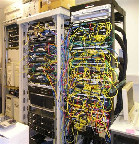 Room Rack by Server Room Consolidation Pictures Daniel Rigal