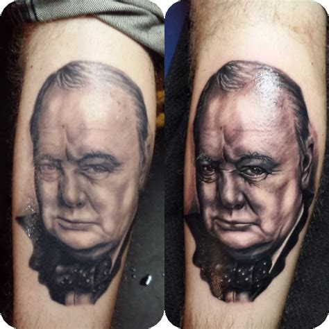 winston churchill tattoo winston churchill work winston