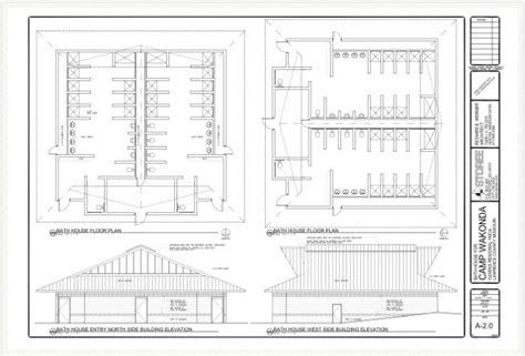 Ada Floor Plans showerhouse plan amp elevation