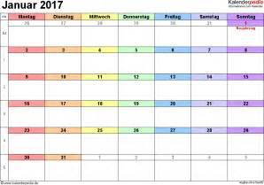 Kalender Für 2018 2017 Februar Kalender Vorlage