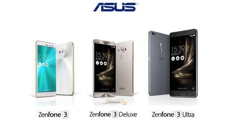 Spesifikasi Hp Asus Zenfone 3 spesifikasi asus zenfone 3 semua tipe dan harga terbaru 2018
