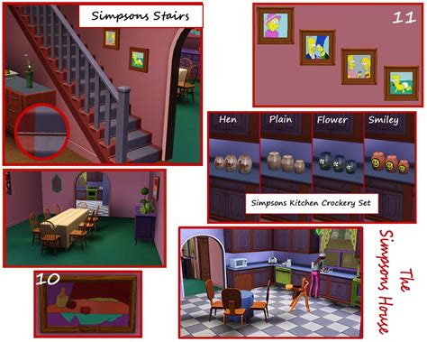 742 evergreen terrace floor plan floor plan of the simpsons house