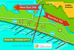 30a florida map 30a homes for sale on east end 53 higher 30a luxury homes
