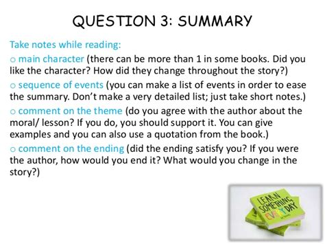 how to make book report how to write a book report