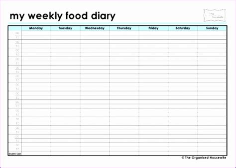 food diaries templates 12 food diary excel template exceltemplates exceltemplates