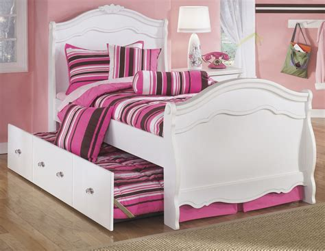 exquisite sleigh bedroom set exquisite youth sleigh bedroom set from ashley b188 62n