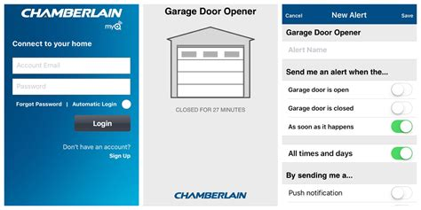 Myq Garage Door Opener App Chamberlain Myq Smart Garage Made Easy