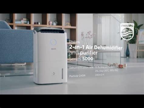 philips    air dehumidifier purifier  series youtube