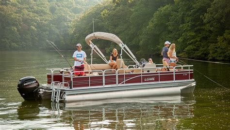 lowe pontoon boat reviews consistent reliable pontooners - Are Lowe Pontoon Boats Good