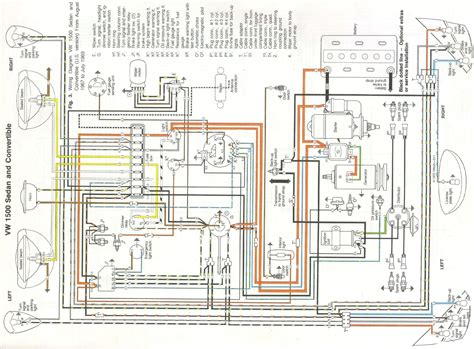 vw beetle engine diagram vw beetle wiring diagram