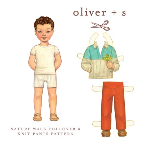 pattern review oliver s oliver s os022nw nature walk pullover knit pants