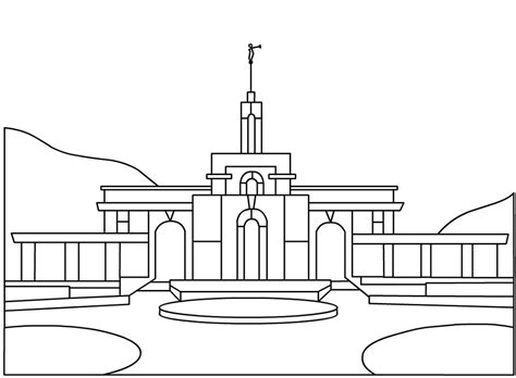 Lds Temple Coloring Page Coloring Book Lds Temple Coloring Pages