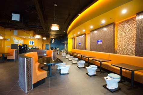 toilet filled magic restroom cafe opens in southern california