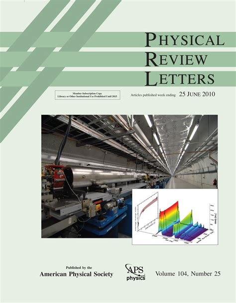 physical review letters 2 how not to up a molecule berkeley lab 1540
