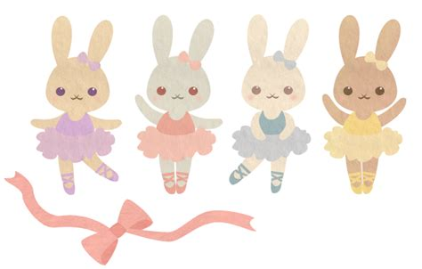 Ballerina Bunny ballerina bunnies by wolfypuppy on deviantart