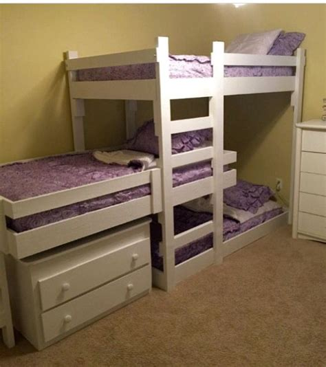 Tripple Bunk Bed Best 25 Bunk Beds Ideas On Pinterest Bunk 3 Bunk Beds And Bed