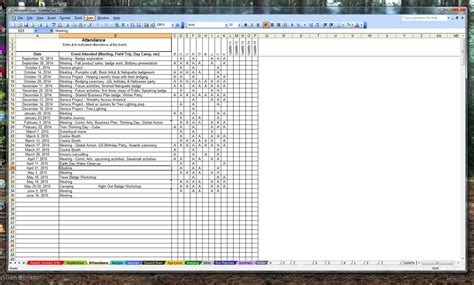 Scout Cookie Tracking Spreadsheet by Scout Trax Spreadsheets Girlscouts