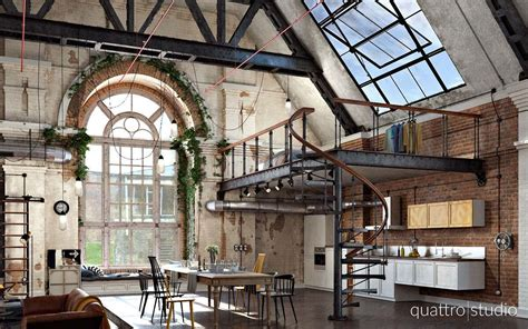 industrial apartments take a look at this stunning industrial loft