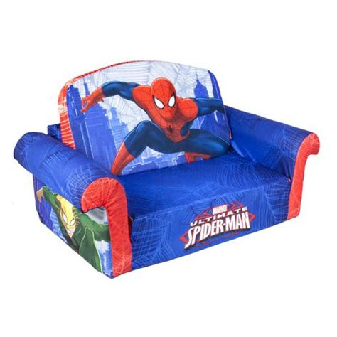spiderman flip sofa marshmallow flip open sofa spiderman walmart ca