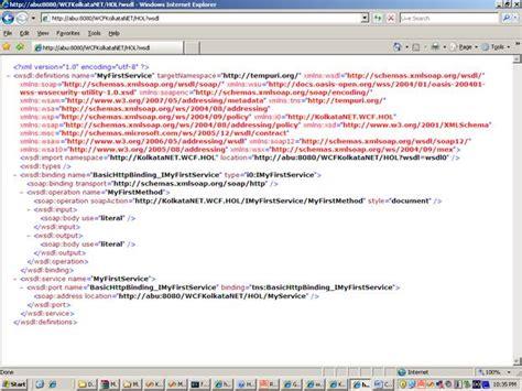 wsdl binding abu s a2z wcf on lab hol tutorial lab