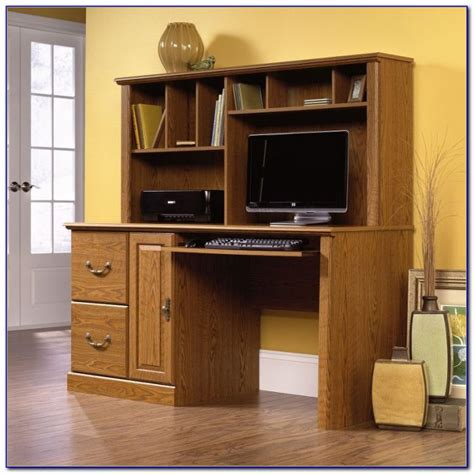 Sauder Beginnings Desk With Hutch Sauder Beginnings Traditional Corner Desk Cinnamon Cherry Desk Home Design Ideas