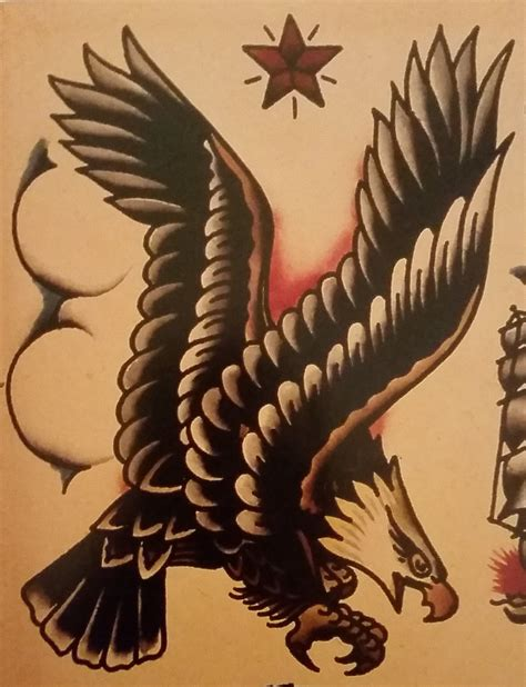 sailor jerry eagle tattoo traditional school sailor jerry eagle bird
