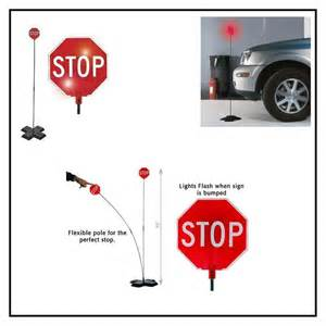 Garage Car Stop Lights 2 In 1 Park N Place Garage Parking Indicator Stop Sign 77103