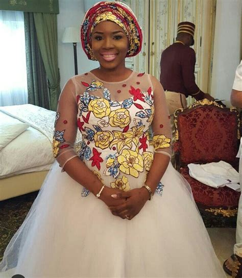Wedding Hairstyles Based On Dress by 15 Beautiful Ankara Inspired Wedding Gown Styles For