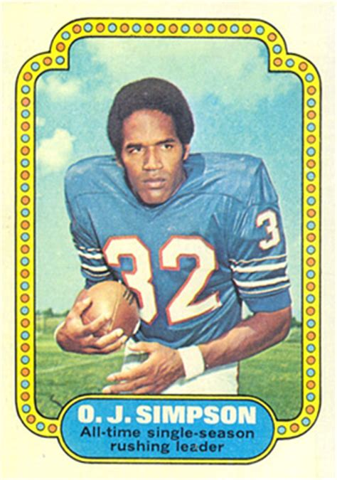 1974 Topps O J 1 Football Card Value Price Guide
