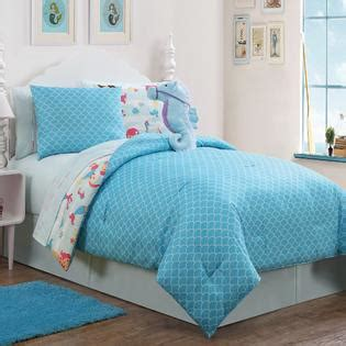 mermaid twin bedding mermaid 7pc reversible comforter set twin home bed