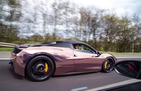 rose gold ferrari rose gold ferrari 458 and italia on pinterest