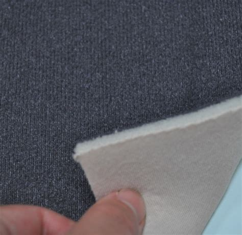 Upholstery Backing Material by 100 Velcro Loop Fabric With Foam Backing And Cotton