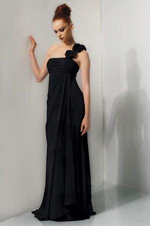Bj 0615 Black Shoulder Dress size 8 chanel pink bari one shoulder bridesmaid dress
