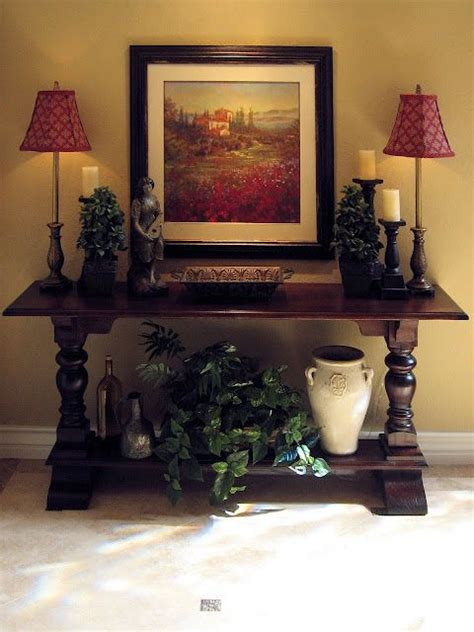sofa table decorations 25 best ideas about hall table decor on pinterest foyer