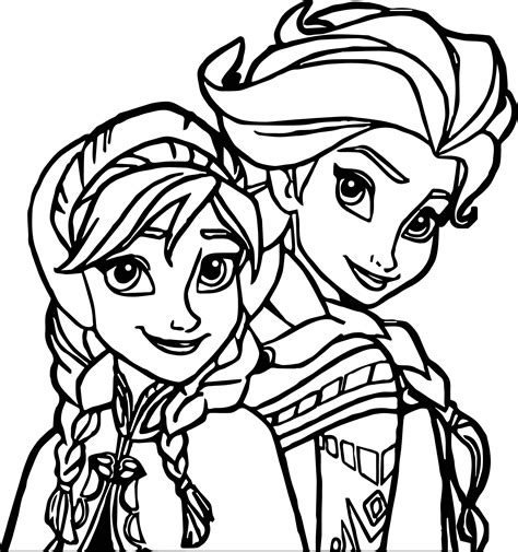 coloring page elsa coloring page wecoloringpage